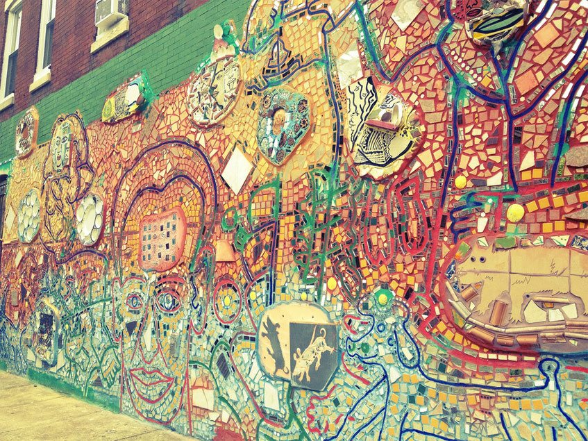 Philadelphia's Magic Gardens. This place was so cool!